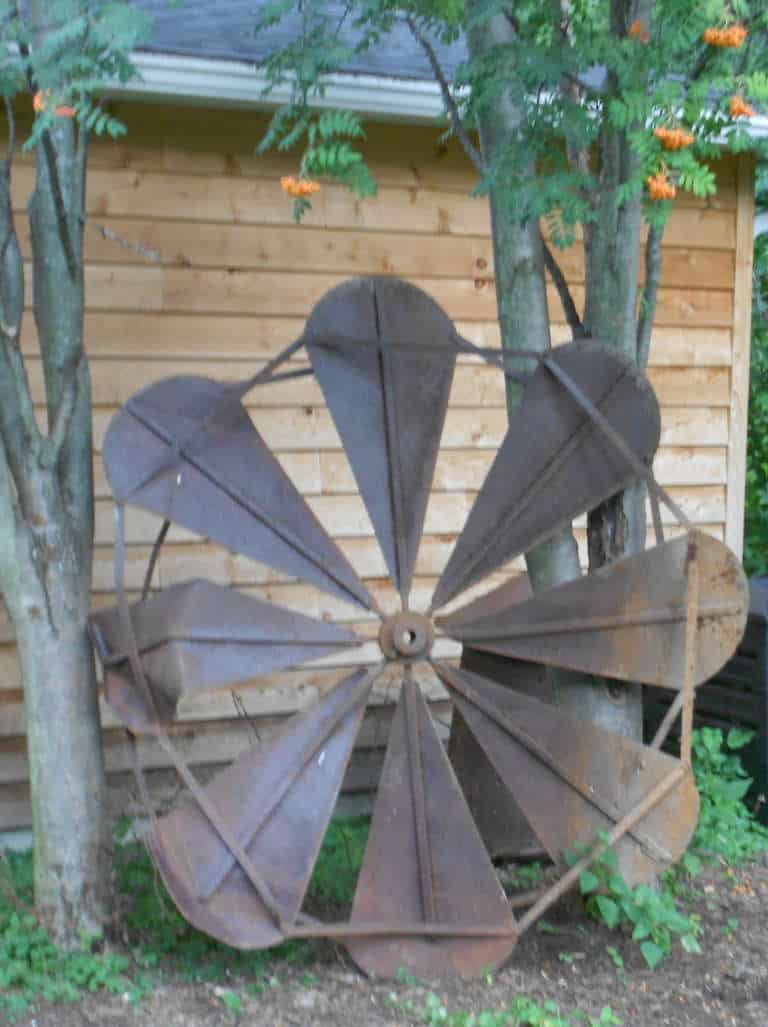 19th Century Agrarian Windmill