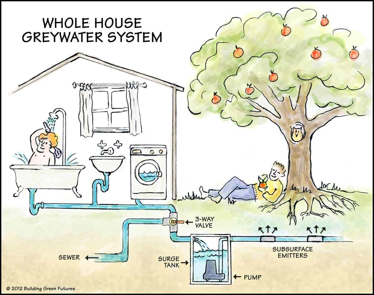 Greywater Plumbing Systems Schema