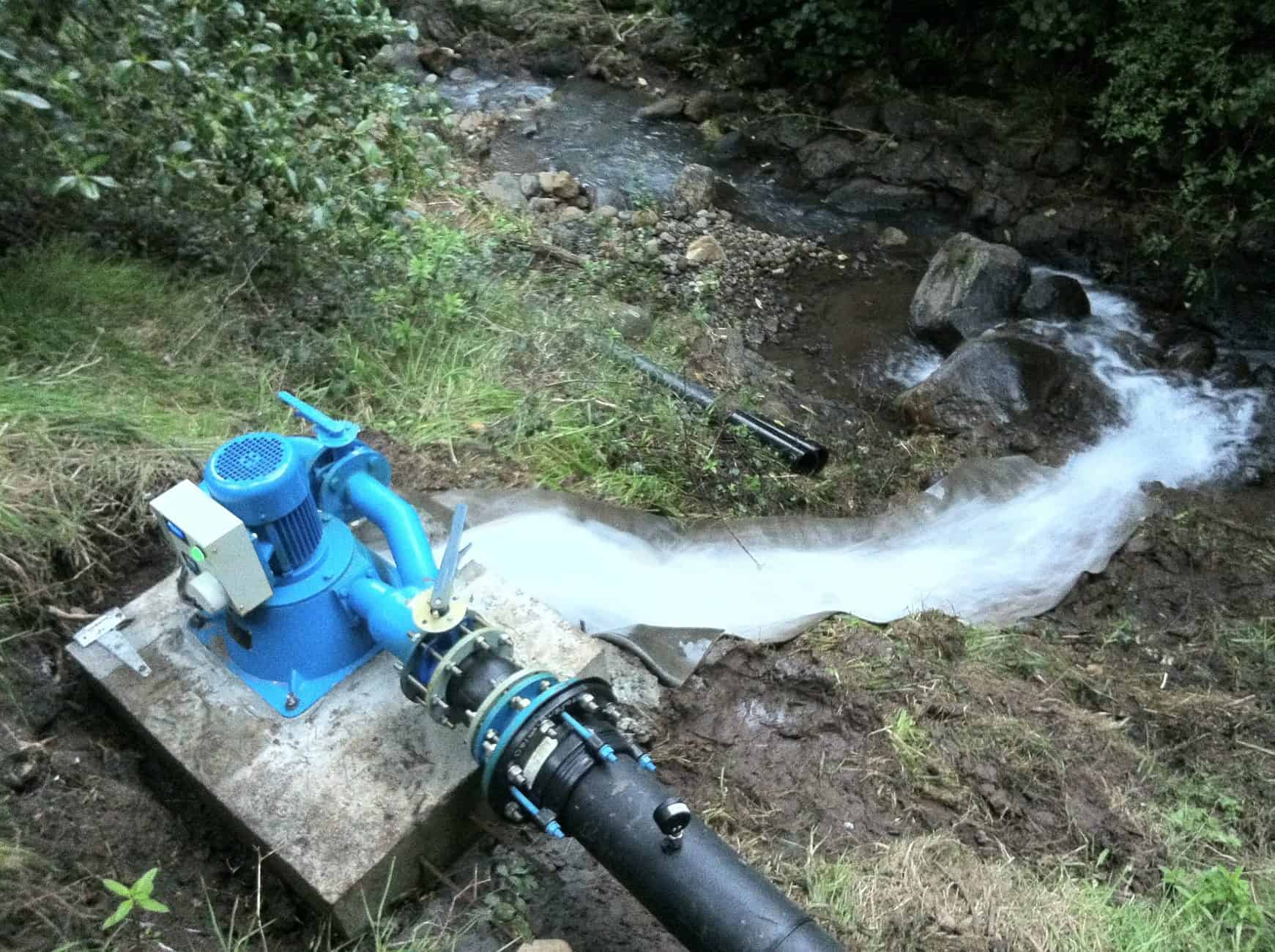 Hydroelectric Power Generator At Home