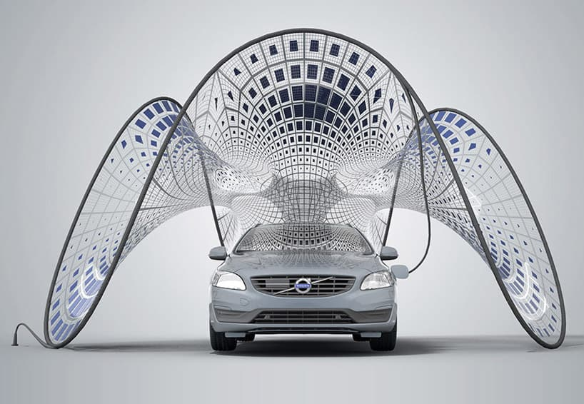 Solar Powered Pavilion Volvo