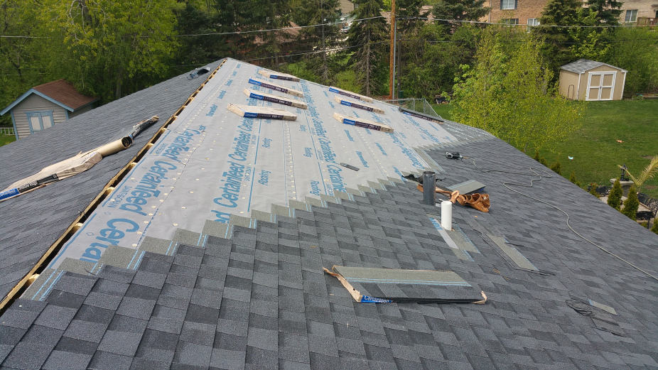 Synthetic Roof Underlayment