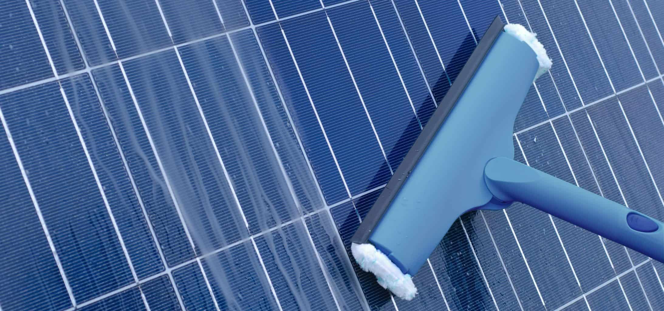 Clean Solar Panels From The Ground